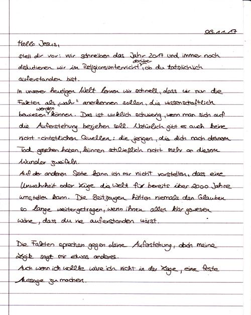 Brief Auferstehung Q2 - 1 001