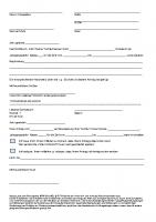 Beurlaubungsantrag